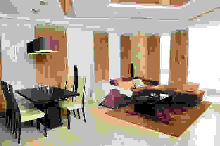 гостиная Гостиная в стиле минимализм от pashchak design Минимализм