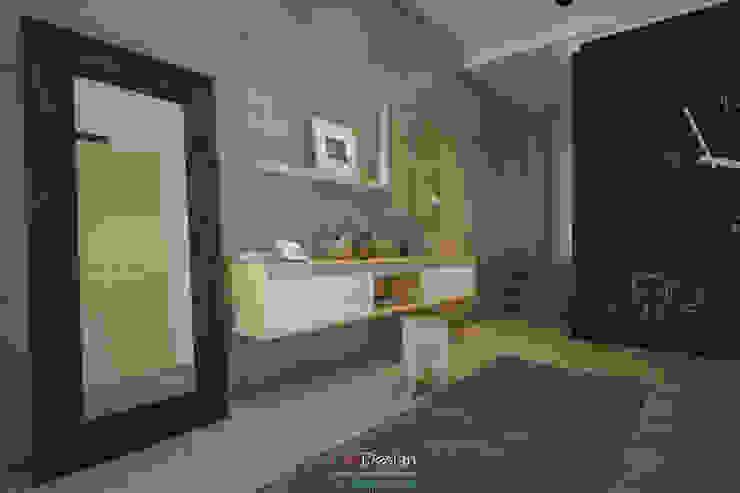 DA-Design Pasillos, vestíbulos y escaleras de estilo minimalista