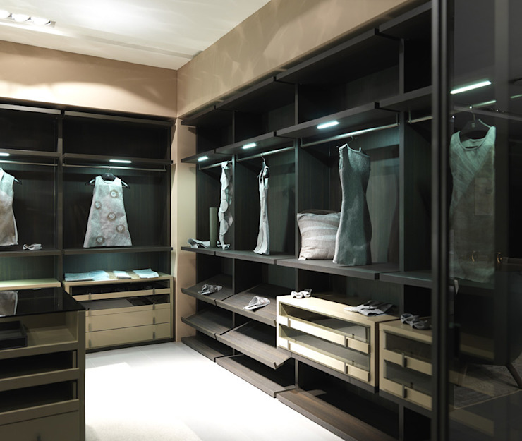 Walk-in-wardrobe: modern  by Lamco Design LTD, Modern