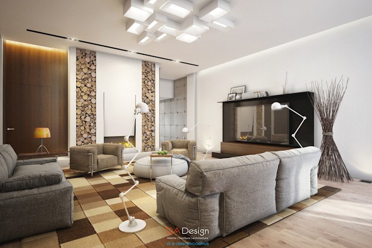 DA-Design Soggiorno minimalista