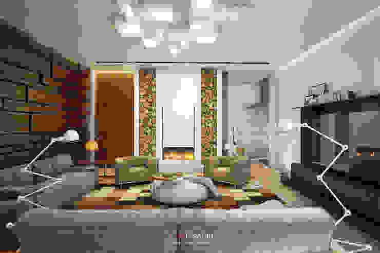 DA-Design Minimalistische Wohnzimmer