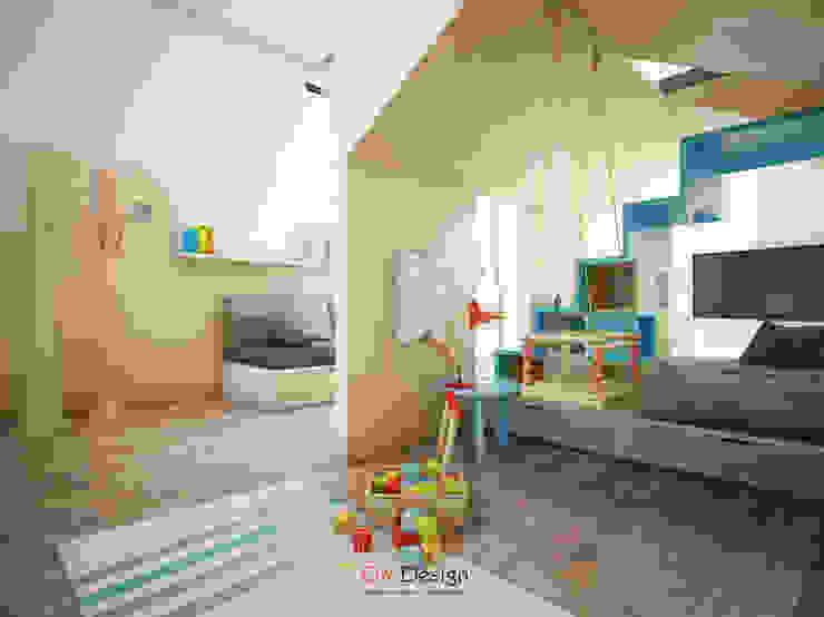 DA-Design Cuartos infantiles de estilo minimalista