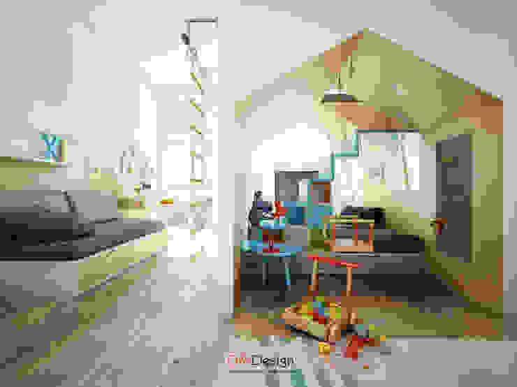 DA-Design Stanza dei bambini minimalista