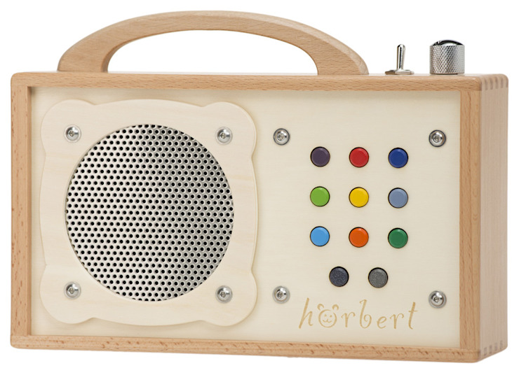 hörbert: Tragbarer MP3-Player aus Holz WINZKI GmbH & CO. KG KinderzimmerSpielzeug