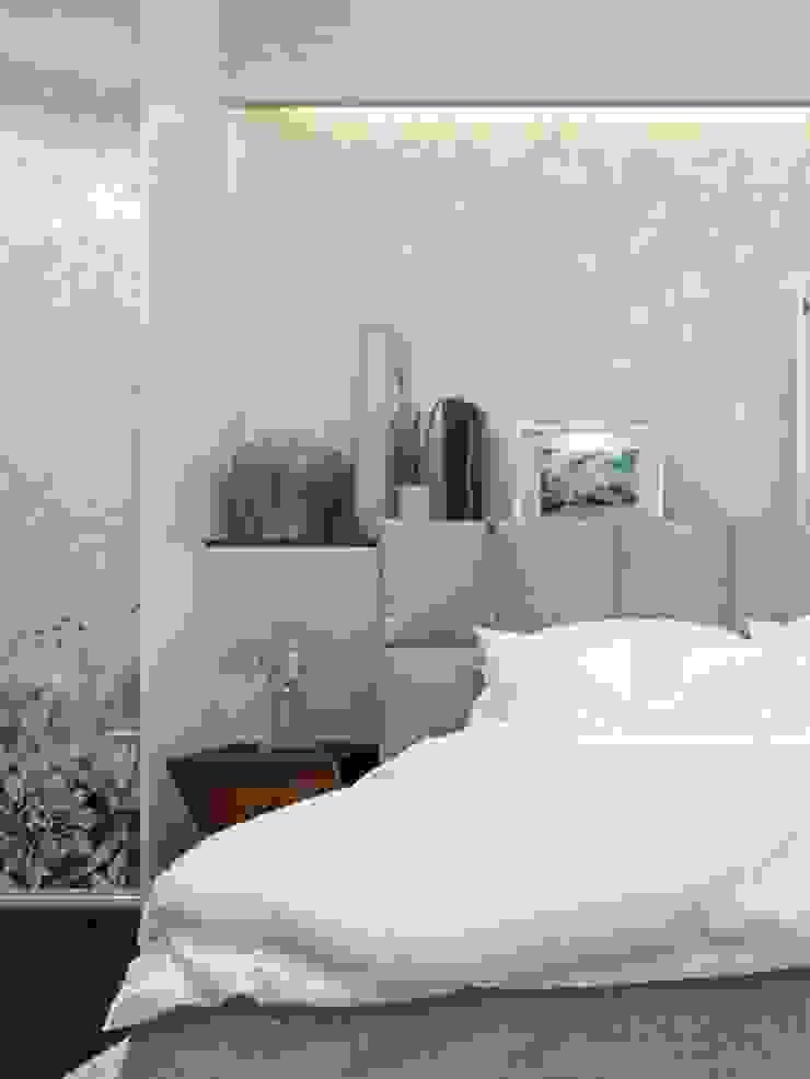 песочная спальня от pashchak design Минимализм