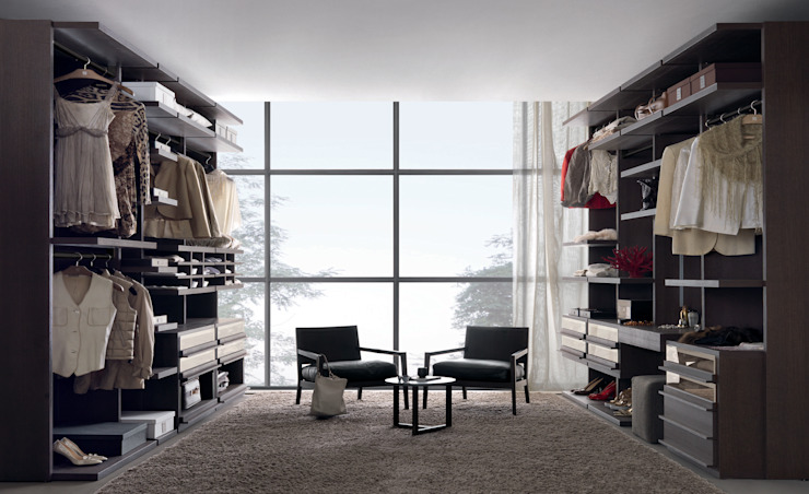 Walk-in-wardrobe de Lamco Design LTD Minimalista