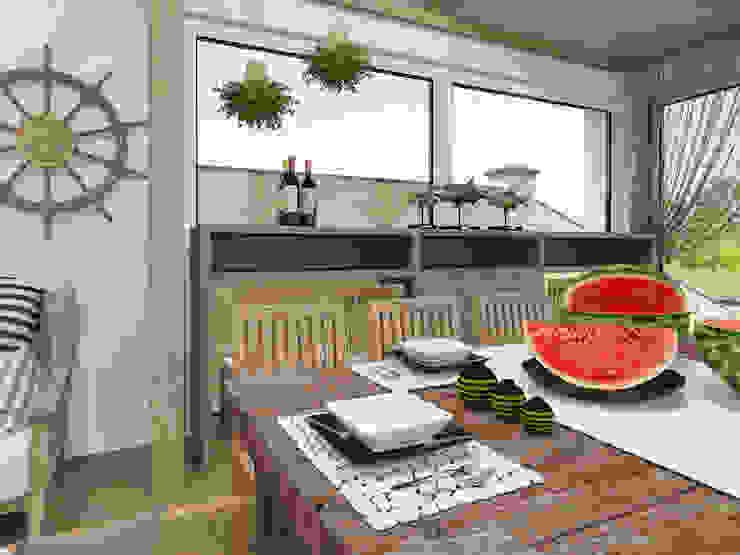 рыбацкий домик Необычные Яхты и катеры от pashchak design Эклектичный