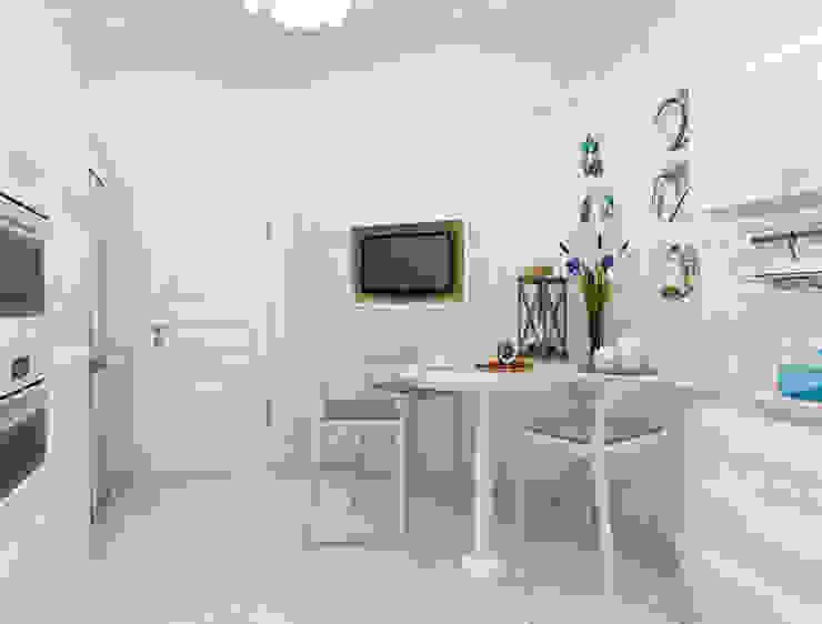 Белая тарелочка Кухня в классическом стиле от pashchak design Классический