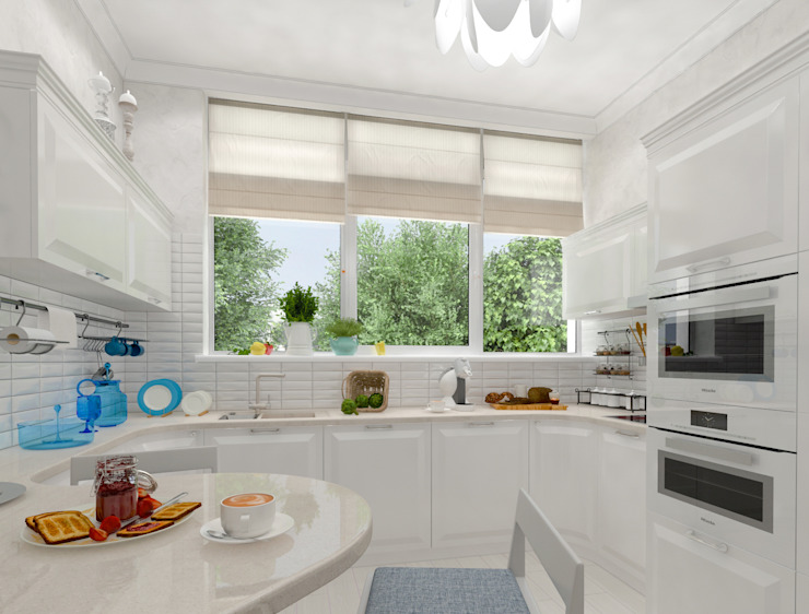 белая тарелочка от pashchak design Классический