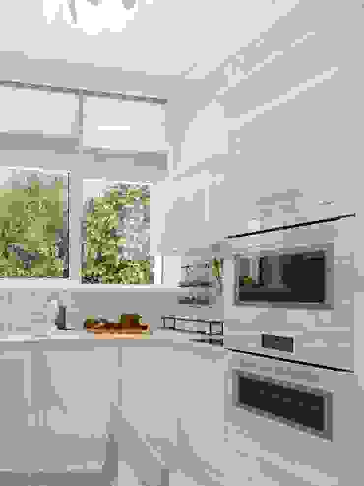 светлая кухня:  в современный. Автор – pashchak design, Модерн