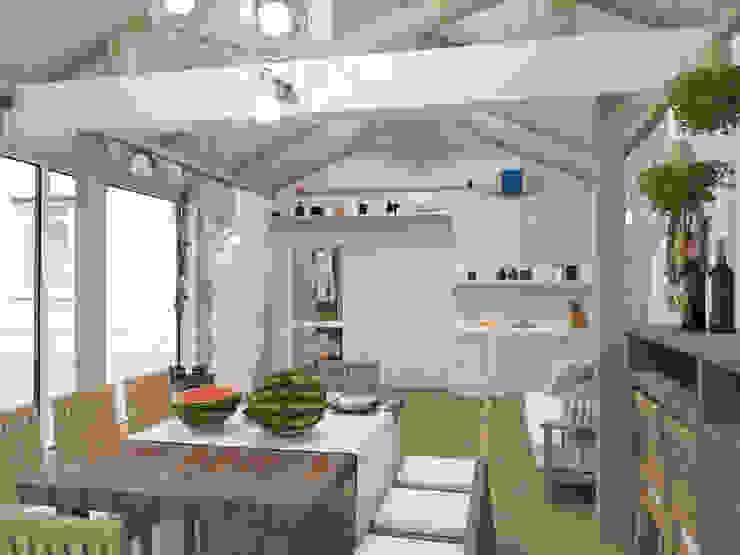 Рыбацкий домик от pashchak design Эклектичный