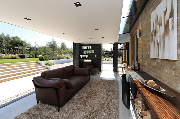 Dovecote Barn Modern living room by Tye Architects Modern