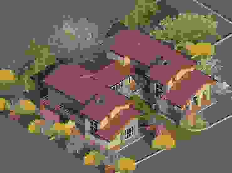 Studio la Piramide Architettura e Urbanistica Rustykalne domy