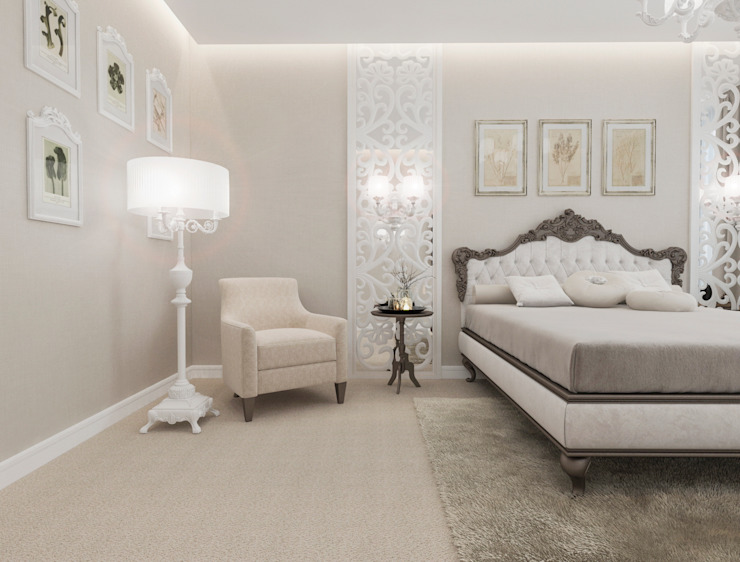 Classic style bedroom by pashchak design Classic