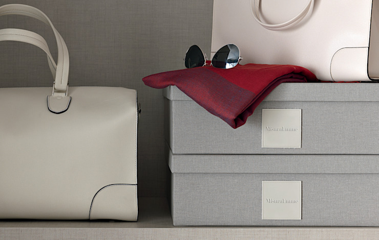Bespoke Linen boxes Lamco Design LTD ChambrePenderies et commodes