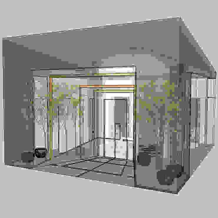 Casas modernas por Teresa Romeo Architetto Moderno