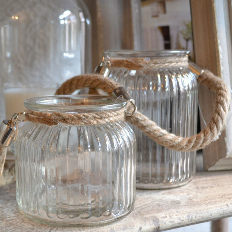 Charming Rope T light holders: scandinavian  by Tina Bucknall, Scandinavian