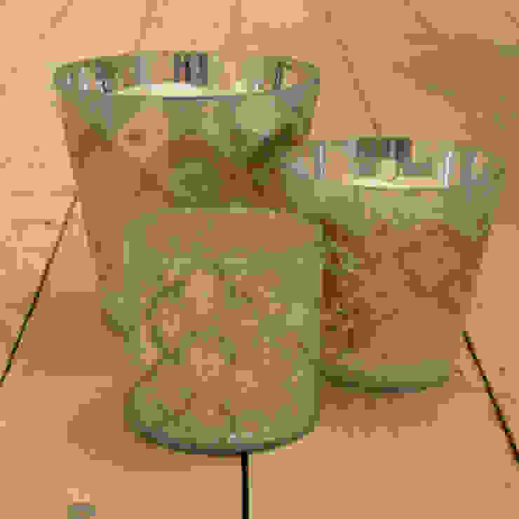 glass votive candle holders: modern  by Tina Bucknall, Modern