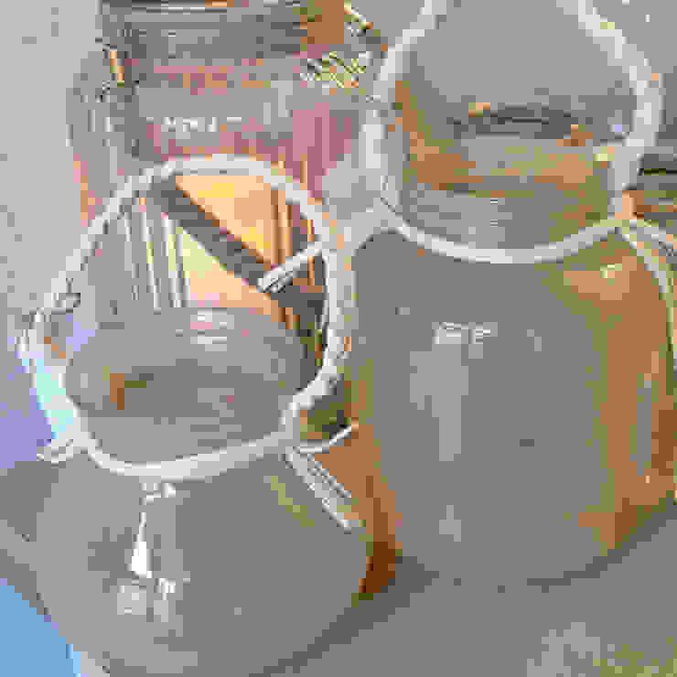 Coloured glass lanterns: scandinavian  by Tina Bucknall, Scandinavian