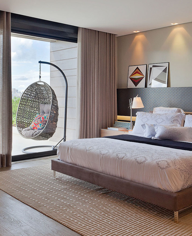 LEDS Arquitetura Dormitorios modernos