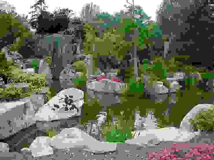 Rustykalny ogród od La ermita de Pozuelo Rustykalny