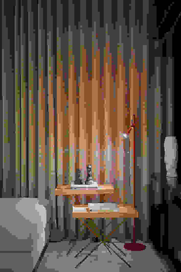 Apartamento Vila Grimm Salas de estar modernas por LEDS Arquitetura Moderno