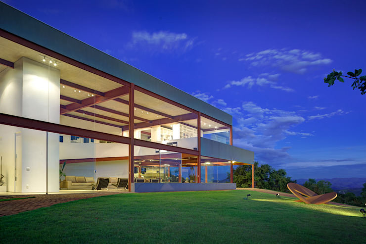 Casas de estilo minimalista de Denise Macedo Arquitetos Associados Minimalista