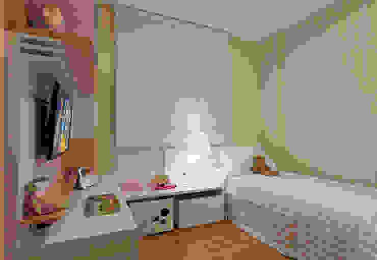 Quarto Infantil menina LEDS Arquitetura Quarto infantil moderno