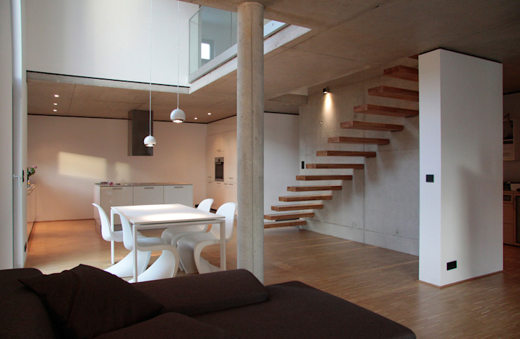 Living room by Scholz&Fuchs Architekten