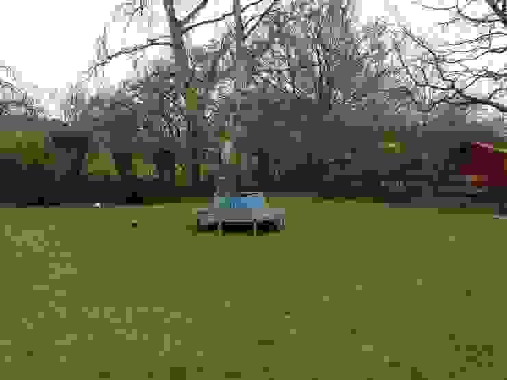 Garden before by Westacott Gardens