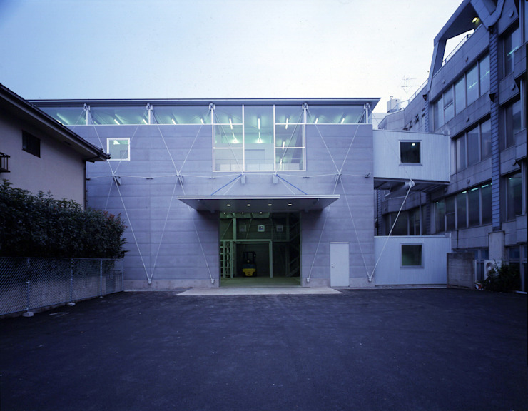 NTS物流センター オリジナルな商業空間 の 株式会社 伊坂デザイン工房 オリジナル