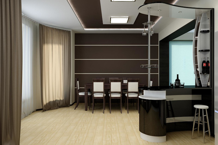 Цунёв_Дизайн. Студия интерьерных решений. Cucina minimalista