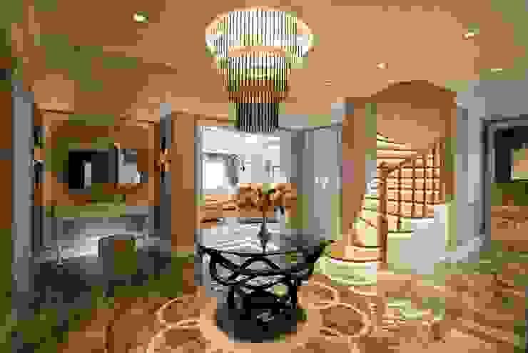Couloir et hall d'entrée de style  par BABA MİMARLIK MÜHENDİSLİK,
