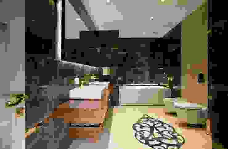 Salle de bains de style  par BABA MİMARLIK MÜHENDİSLİK, Moderne