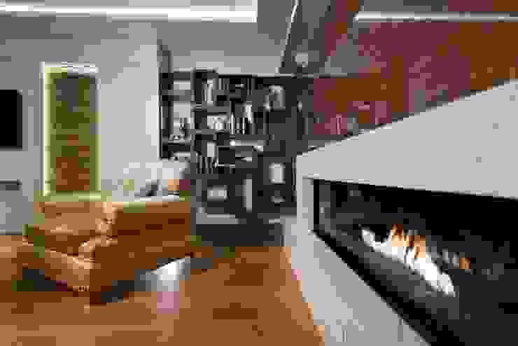 BABA MİMARLIK MÜHENDİSLİK – Yeşil Vadi Erguvan Evi, İstanbul.: modern tarz , Modern