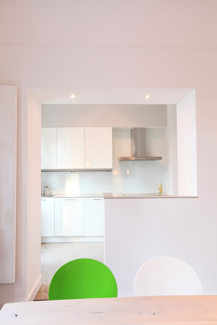 Cuisine moderne par 28 Grad Architektur GmbH Moderne