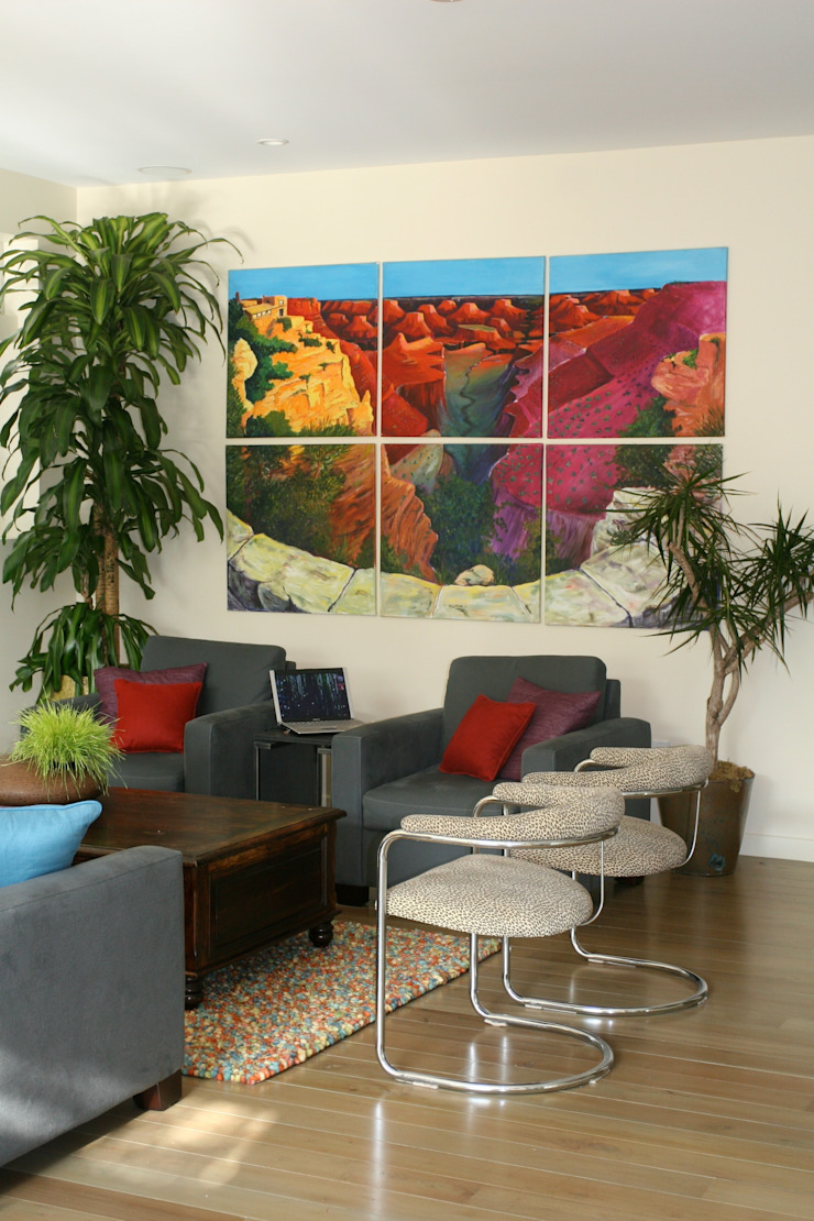 L.A. House: modern  by Martin Hall Design, Modern