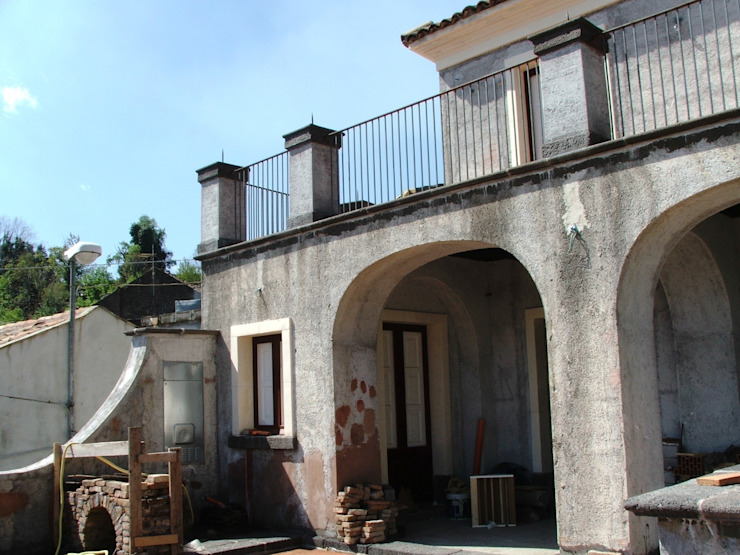 Prospetto Case in stile mediterraneo di Antonio Torrisi Mediterraneo