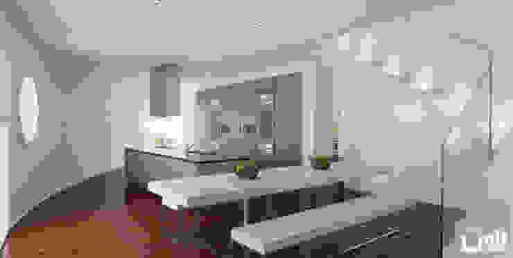 Attico - Venezia Cucina moderna di UNIT Studio Moderno
