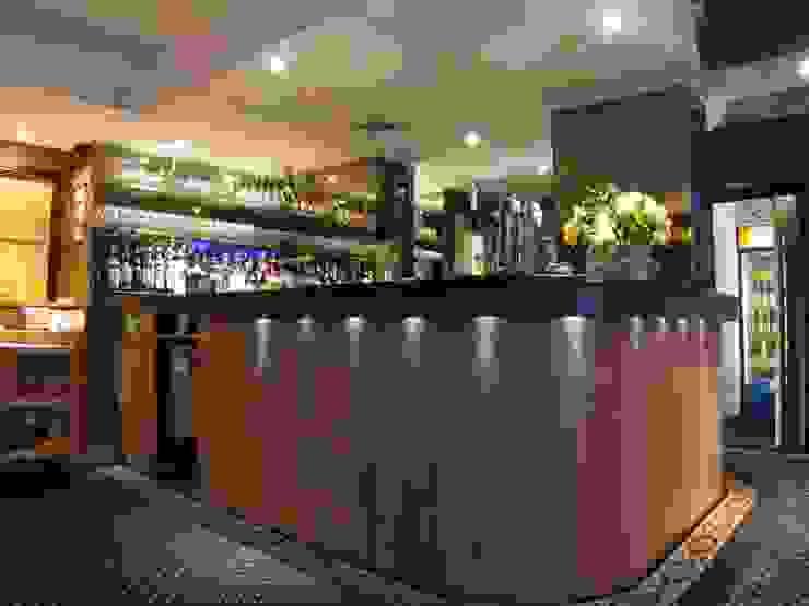 Bar of Gandhi restaurant by Martin Hall Design