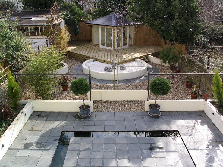 Completed garden by Martin Hall Design