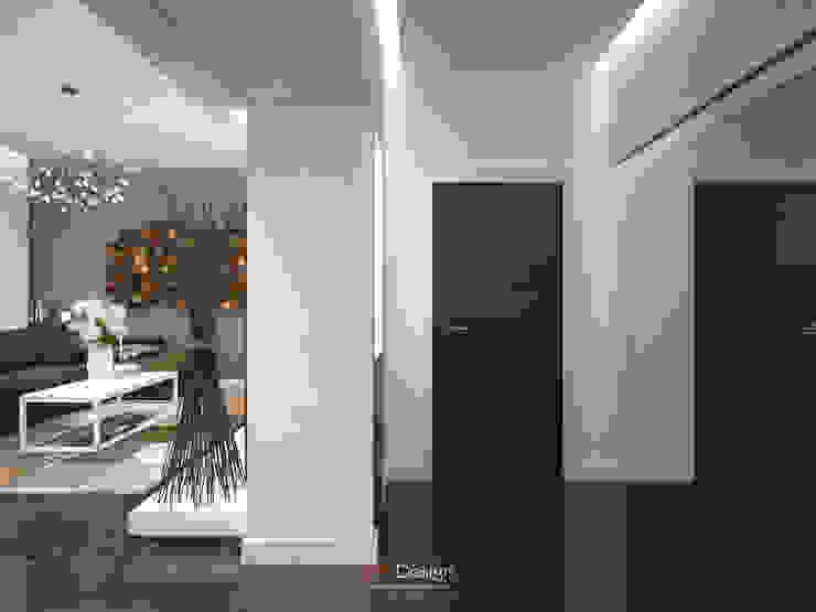 DA-Design Pasillos, halls y escaleras minimalistas