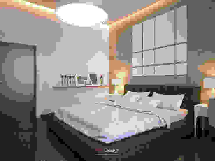 DA-Design Dormitorios de estilo minimalista