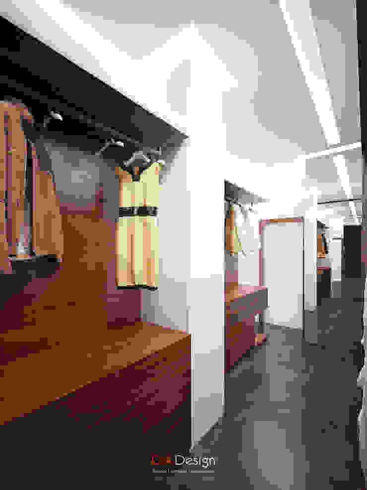 DA-Design Walk in closets de estilo minimalista
