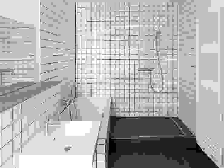 Raumausnutzung Minimalistische Badezimmer von quartier vier Architekten Landschaftsarchitekten Minimalistisch