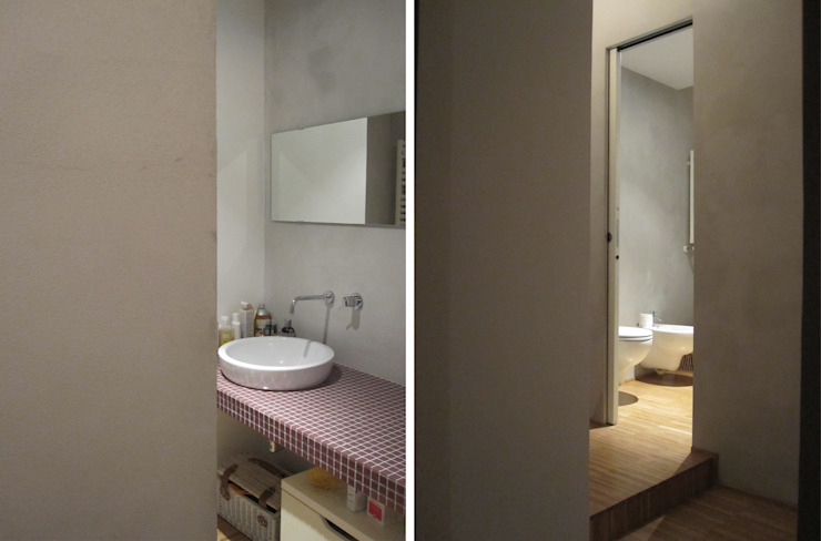2bn architetti associati Modern Bathroom