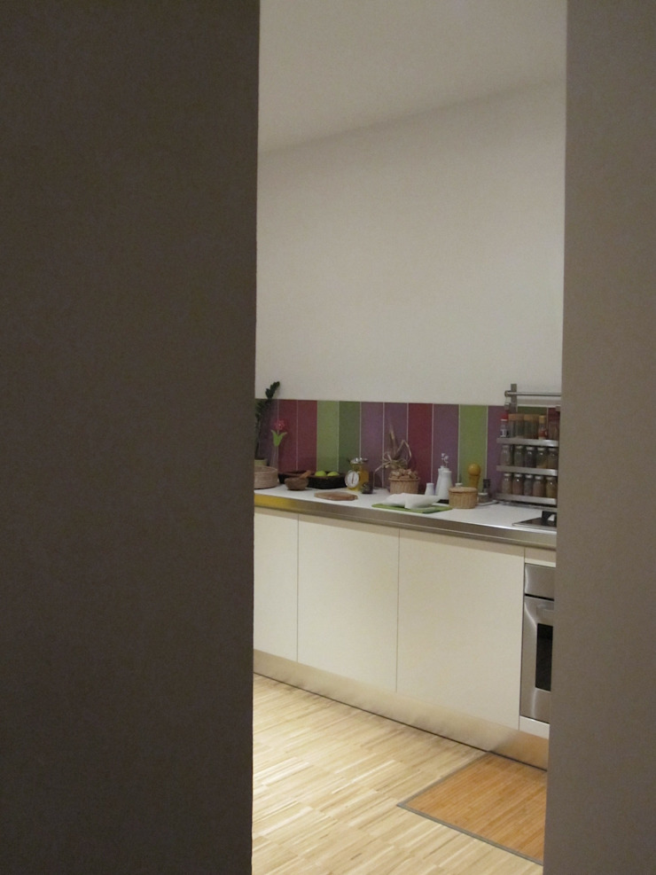 2bn architetti associati Modern Kitchen