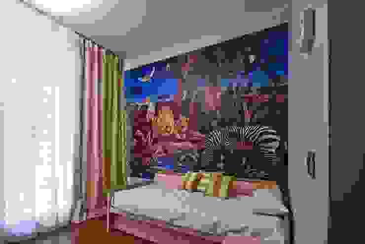 """Квартира в апартаментах """"Мариот» Детская комната в стиле модерн от freelancer Модерн"""