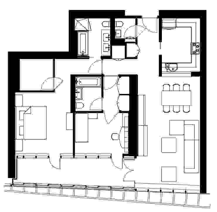 """Квартира в апартаментах """"Мариот» от freelancer"""