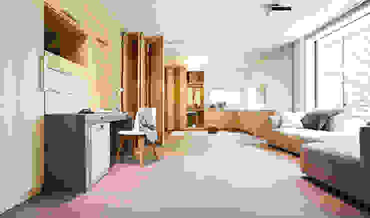Openspace-Multifunktionsraum abtrennbar von Sonnleitner Holzbauwerke GmbH & Co. KG